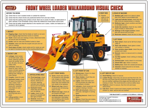 MiniCHART - Front Wheel Loader Walkaround Visual Check