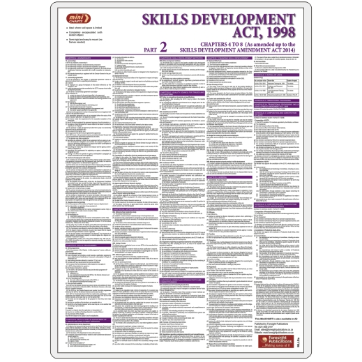MiniCHART - Skills Development Act Part 2