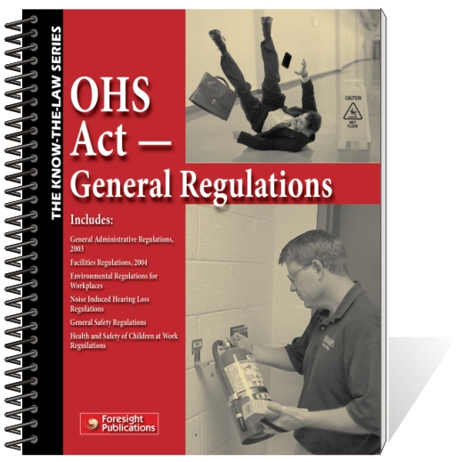 OHS Act - General Regulations