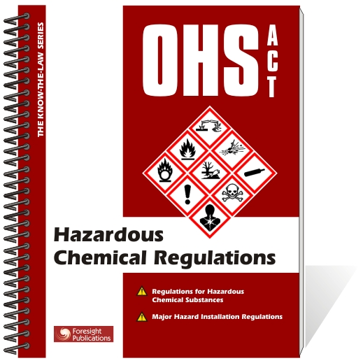 OHS Act - Hazardous Chemicals Regulations