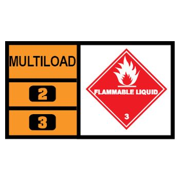 MULTILOAD (of class 3 flammable liquids)