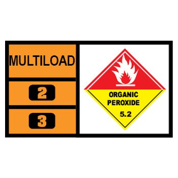 MULTILOAD (of class 5.2 - organic peroxides)