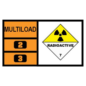 MULTILOAD (of class 7 - radioactive material)