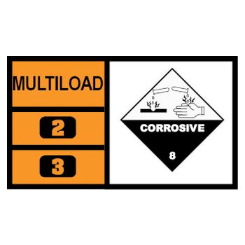 MULTILOAD (of class 8 corrosives)