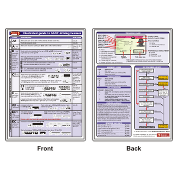 Illustrated Guide to SADC Driving Licences