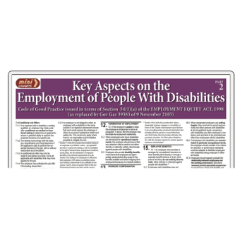 Key Aspects of Employment of People With Disabilities Part 2