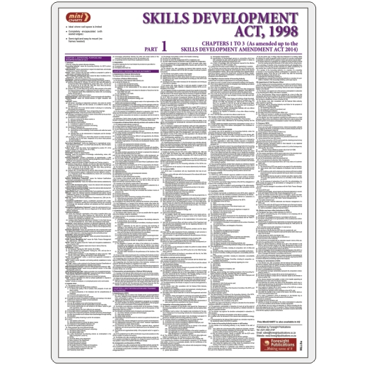 MiniCHART - Skills Development Act Part 1