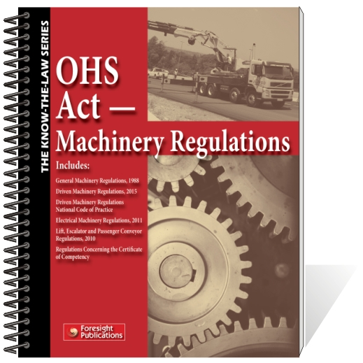 OHS Act - Machinery Regulations
