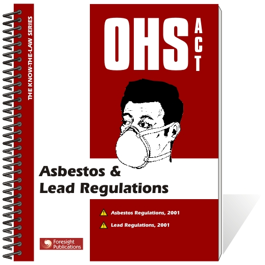 OHS Act - Asbestos & Lead Regulations