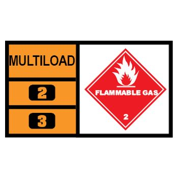 MULTILOAD (of class 2.1 gases)