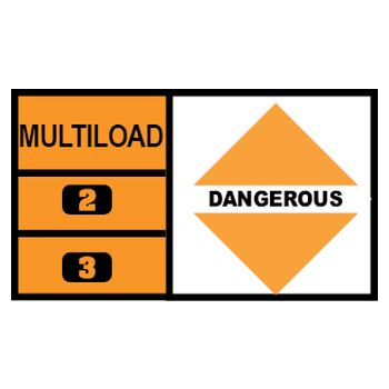 MULTILOAD (of different hazard classes)