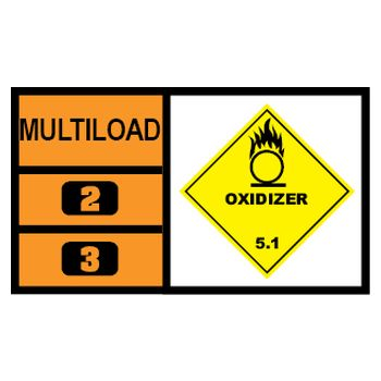 MULTILOAD (of class 5.1 - oxidizers)