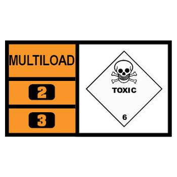 MULTILOAD (of class 6.1 - toxic substances)