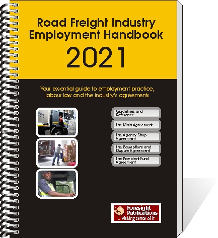 Road Freight Industry Employment Handbook 2021