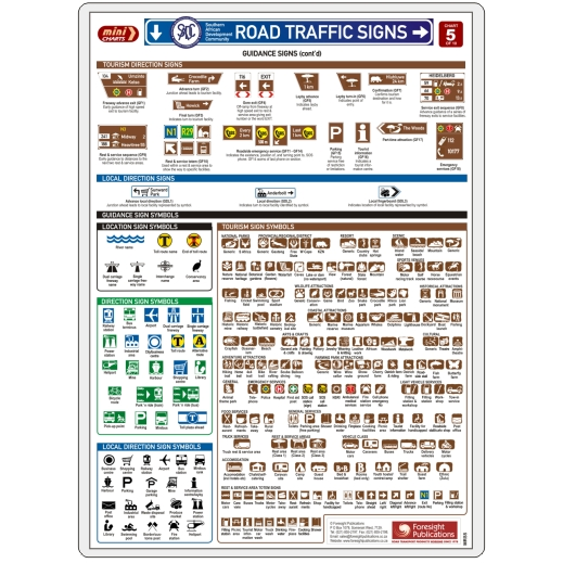 MiniCHART - SADC Road Traffic Signs 5