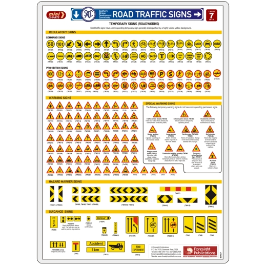 MiniCHART - SADC Road Traffic Signs 7