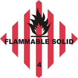 Class 4.1 Flammable solid